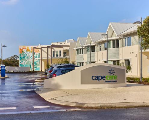 Entryway to Capecare Dunsborough
